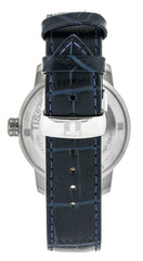 Tissot PRC 200 Sport Swiss Blue Dial Leather Men Watch T0554101604700