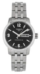 Tissot Powermatic 80 Day Date SS Black Dial Men Watch T0554301105700