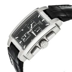 Tissot T-Trend TXL Chronograph Black Leather Men Watch T0617171605100