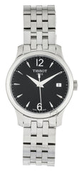 Tissot T-Classic Tradition Black Dial Steel Women Watch T0632101105700