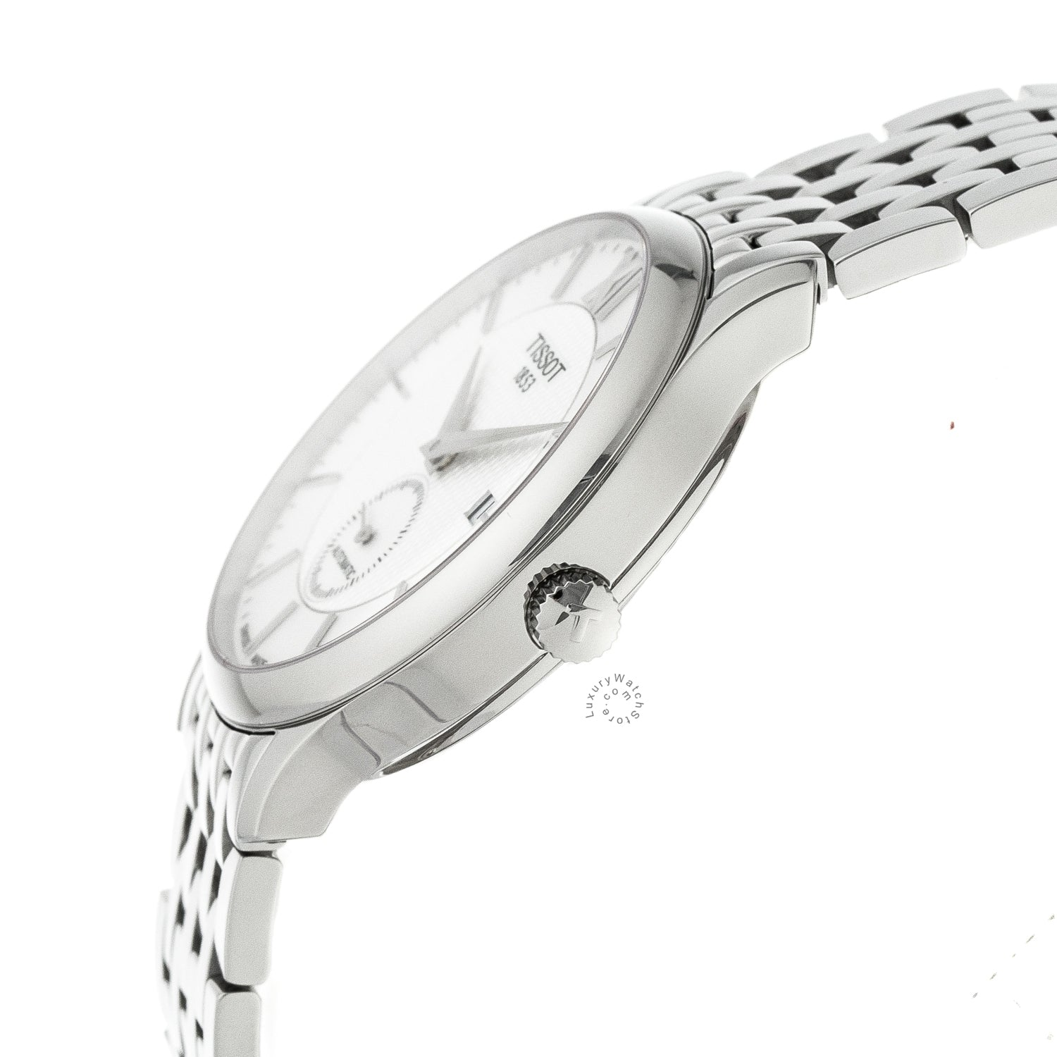 Tissot Tradition SM Second Silver Dial Auto Men Watch T0634281103800