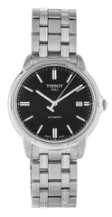 Tissot Automatics III Day Black Dial Automatic Watch T0654071105100
