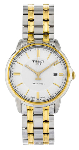 Tissot Automatics III Day White Dial Automatic Watch T0654072203100