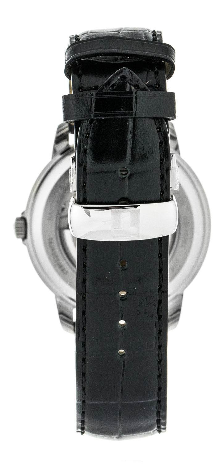 Tissot T-Classic Automatics III Black Leather Men Watch T0654301605100
