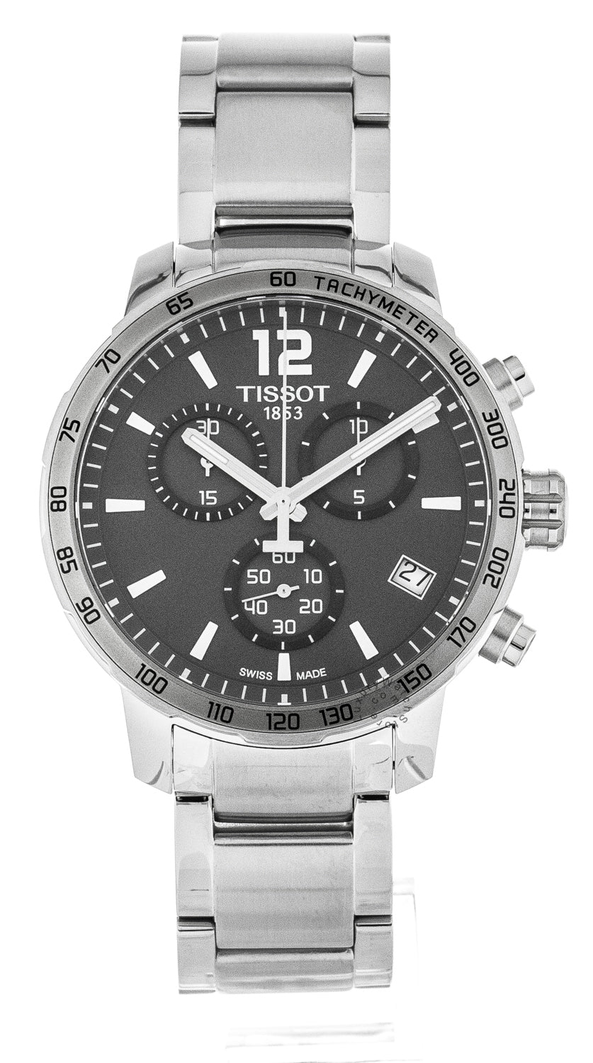 Tissot Quickster Chronograph 42mm Quartz SS Men's Watch T0954171106700