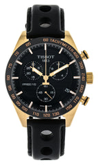 Tissot PRS 516 BLK Dial Chronograph Rosegold Men Watch T1004173605100