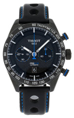 Tissot PRS 516 Chronograph Leather Automatic Men Watch T1004273620100