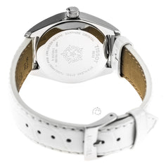 Tissot T Classic PRC 100 White Leather Women Watch T1012101603100