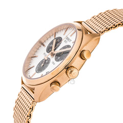 Tissot PR 100 Chronograph Rose Gold PVD Mesh Men Watch T1014173303101