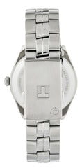 Tissot PR 100 Dual Time Silver Dial Steel Men Watch T1014521103100