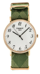 Tissot T-Classic Everytime Large Green Fabric Men Watch T1096103803200