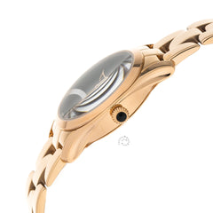 Tissot T-Wave T-Lady Black Dial RoseGold SS Women Watch T1122103305100