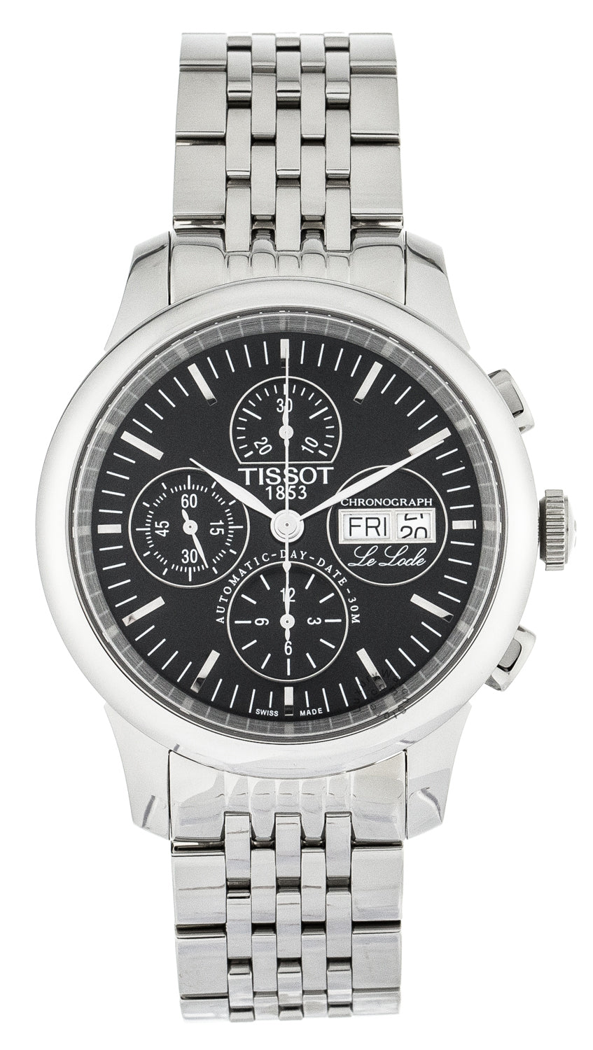 Tissot T-Classic Le Locle Chronograph Automatic Men's Watch T41138751