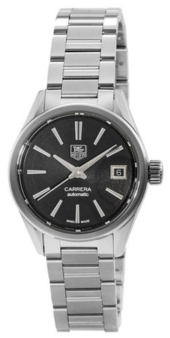 Tag Heuer Carrera Black Dial Automatic 28mm Women Watch WAR2410.BA0776