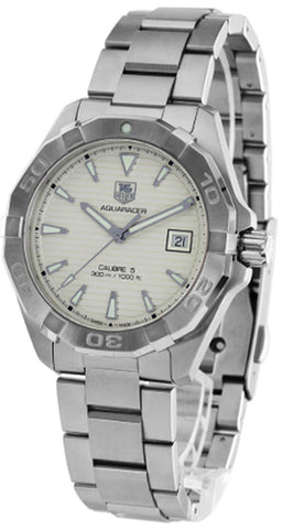 Tag Heuer Aquaracer Calibre 5 Anthracite Dial SS Watch WAY2113.BA0928
