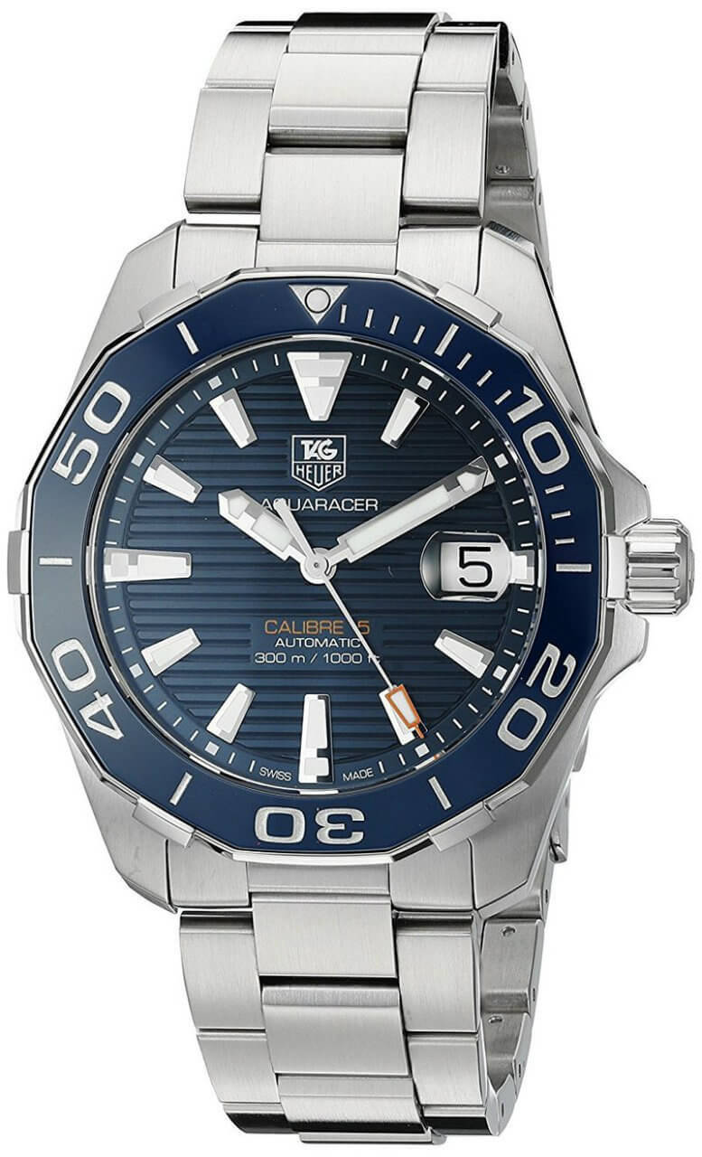 Tag Heuer Aquaracer Calibre Blue Dial Automatic Watch WAY211C.BA0928