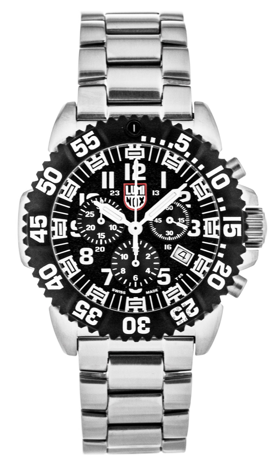 Luminox Navy SEAL Steel Colormark Chronograph 44mm Men's Watch XS.3182