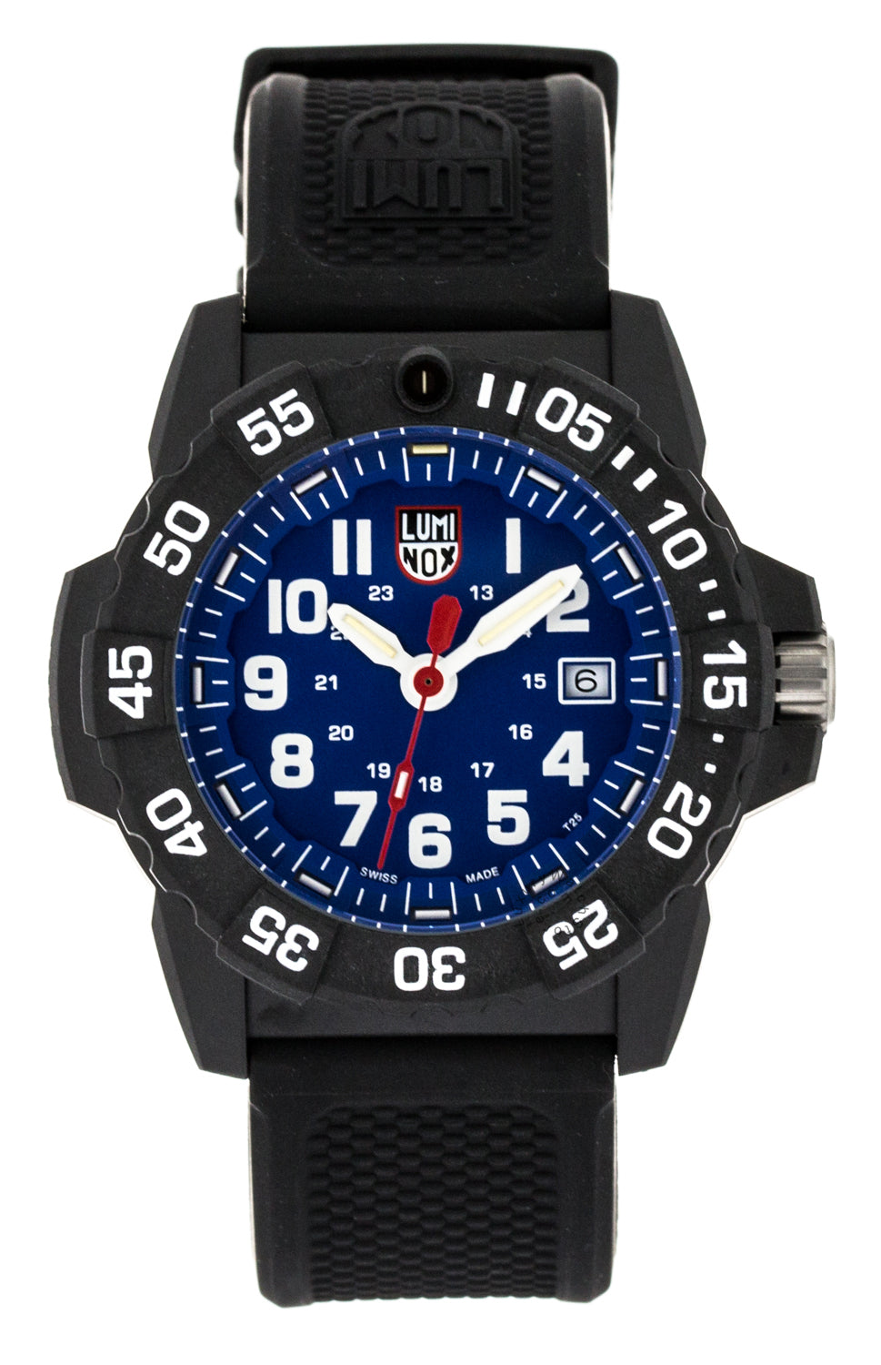 Luminox Navy SEAL 45mm Stainless Steel Rotating Bezel Watch XS.3503