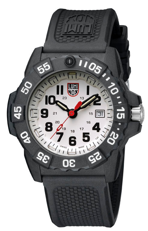 Luminox Navy Seal 3500 Series 45MM Rotating Bezel Men Watch XS.3507