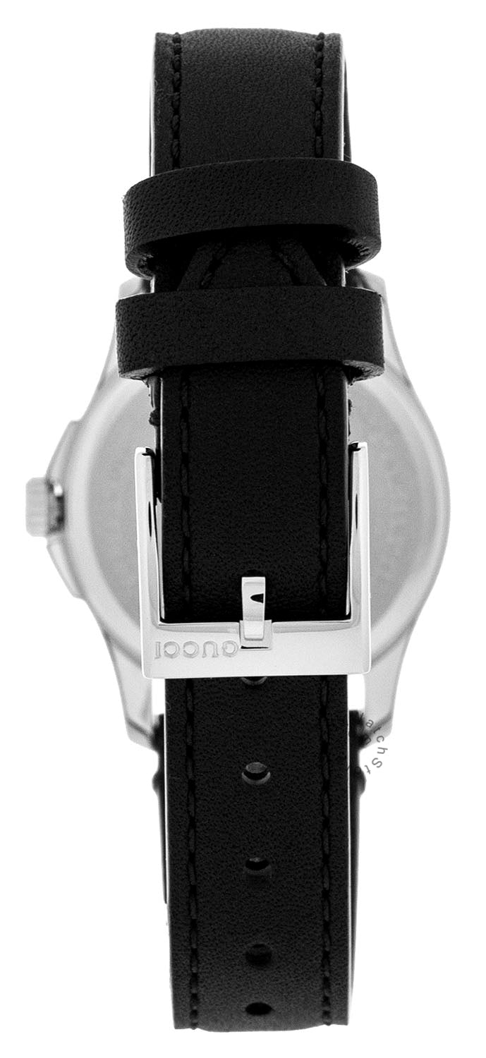Gucci G-Timeless Silver Dial Leather Band watch | YA126574