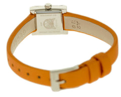 Gucci G-Frame 14x18MM Square Case Orange MOP Dial Women's Watch YA128532