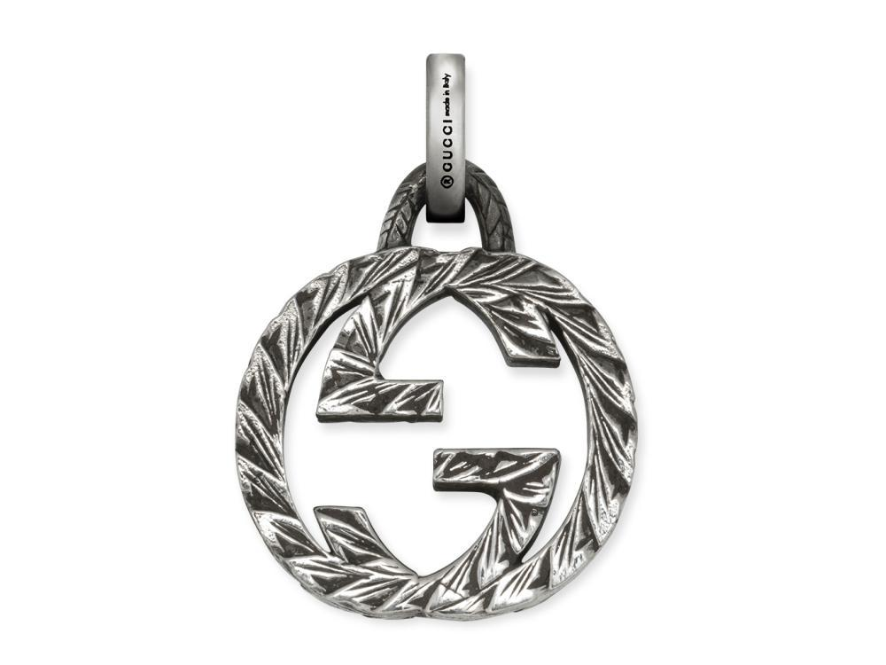 Gucci Interlocking G Charms Sterling Silver 925 Charms YBG455288001