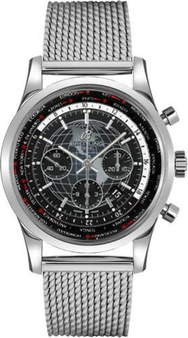 Breitling Transocean Chronograph Unitime GMT Watch AB0510U4/BE84/152A