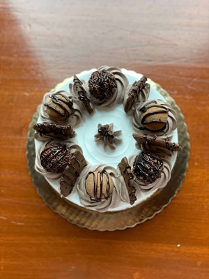 Small Blissful Brownie Truffle Cake