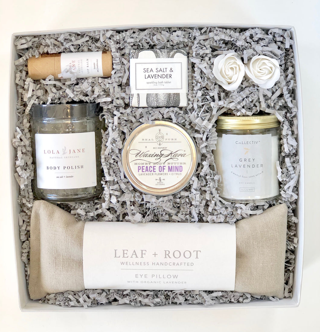 The LAVENDER SPA BOX