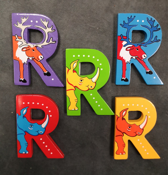 Children's Animal Letters - R