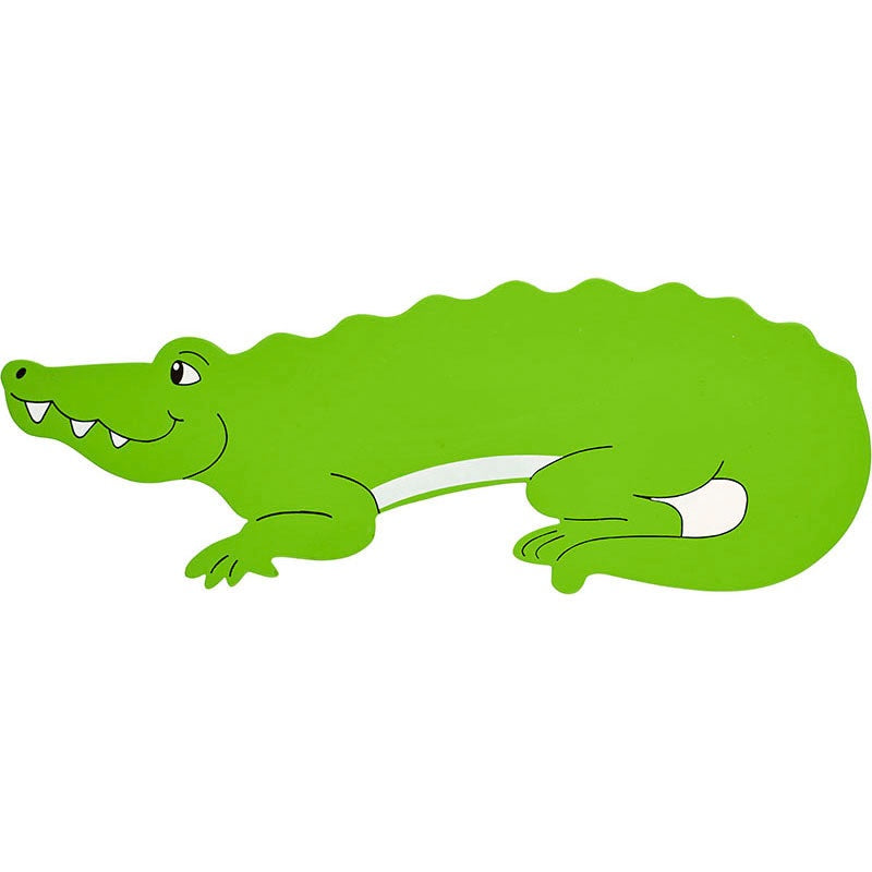 Green Crocodile Letter Plaque