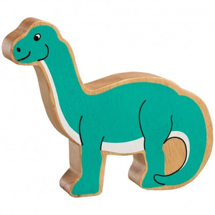 Green Long Neck Dinosaur Shape Toy