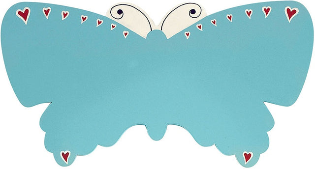 Blue Butterfly Letter Plaque