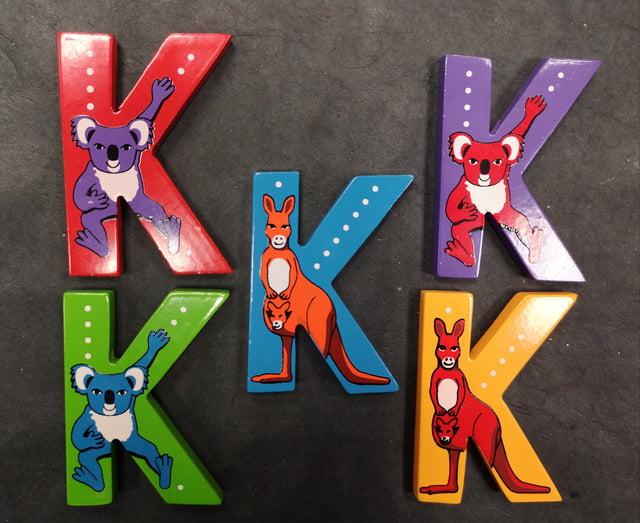 Children's Animal Letters - K