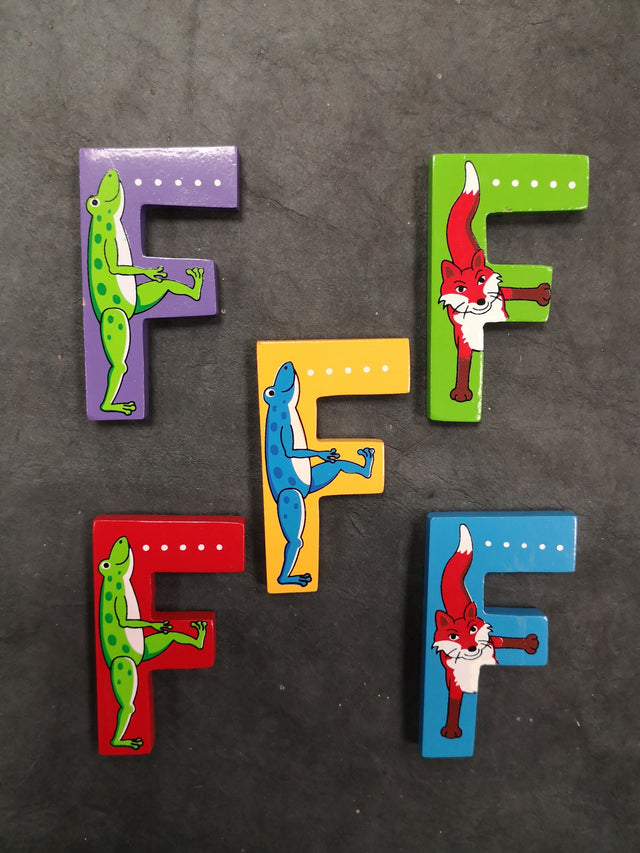 Children's Animal Letters - F