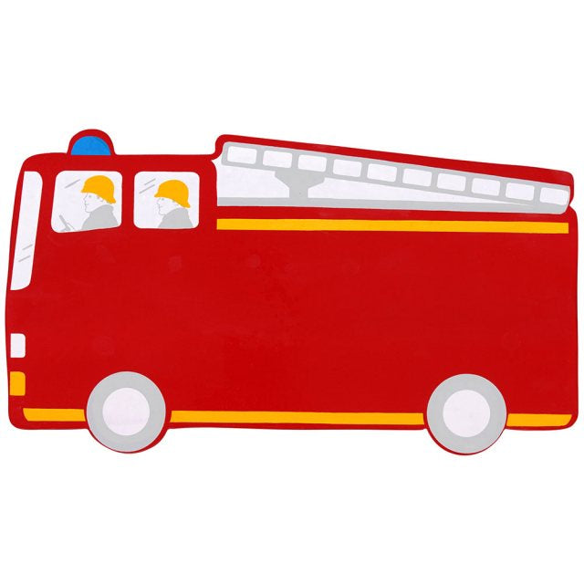 Fire Engine Letter Plaque