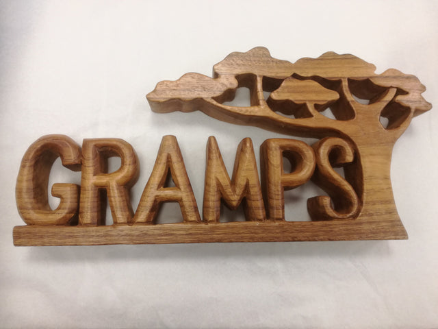 Gramps Sign