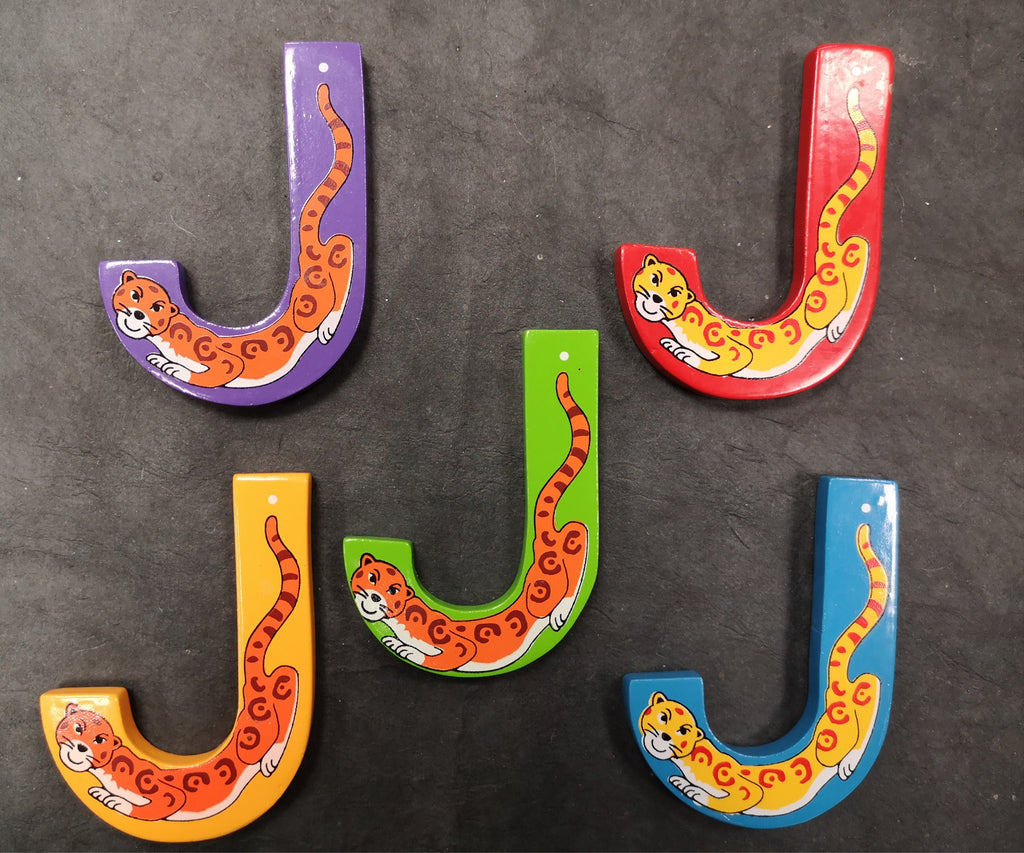Children's Animal Letters - J