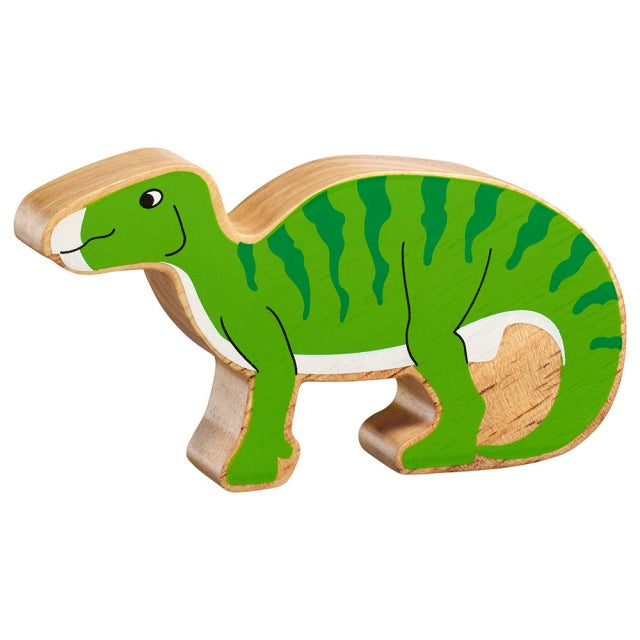 Green Striped Dinosaur Shape Toy