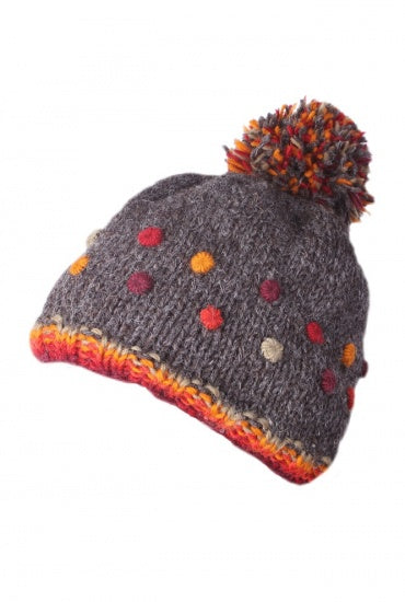 Bobble Beanie Montpellier Bark