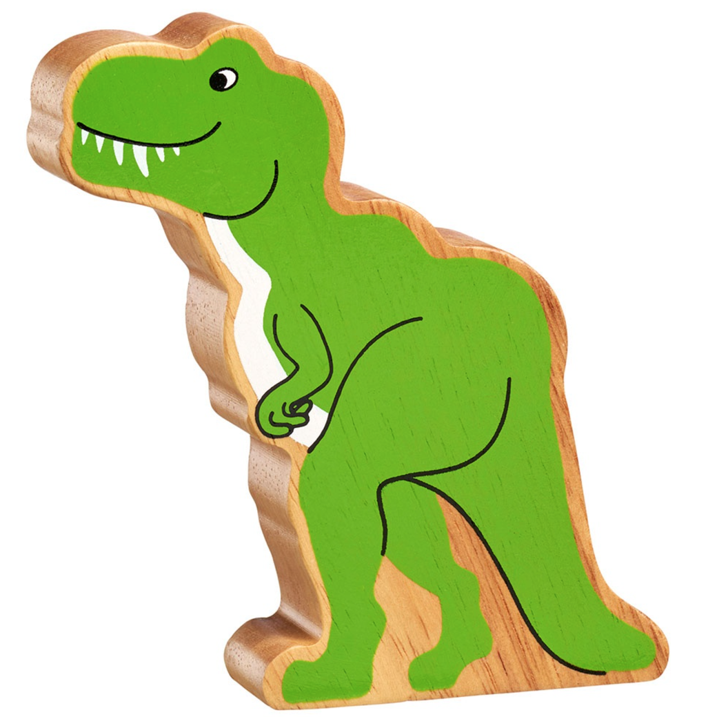 Green T-Rex Dinosaur Shape Toy