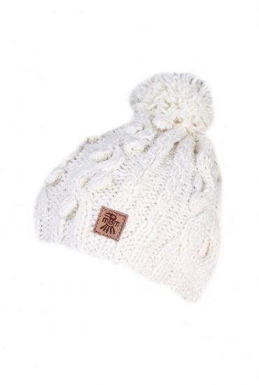 Bobble Beanie Ardara Cream