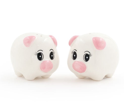 Salt and Pepper Pig Shakers