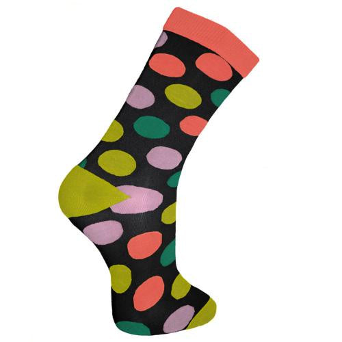 Bamboo Socks (Womens) - Polka Dots