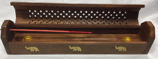 Large Incense box (shesham wood)