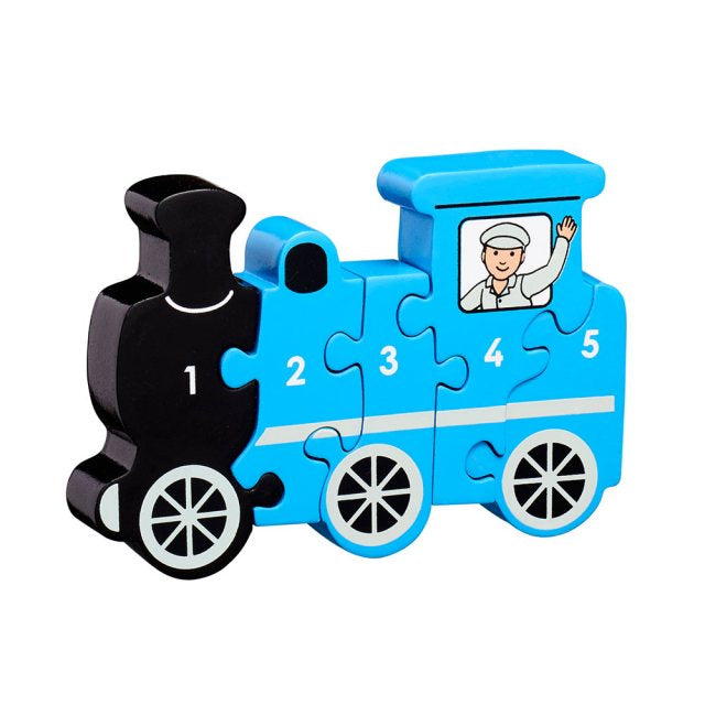 Blue Train 1-5 Jigsaw