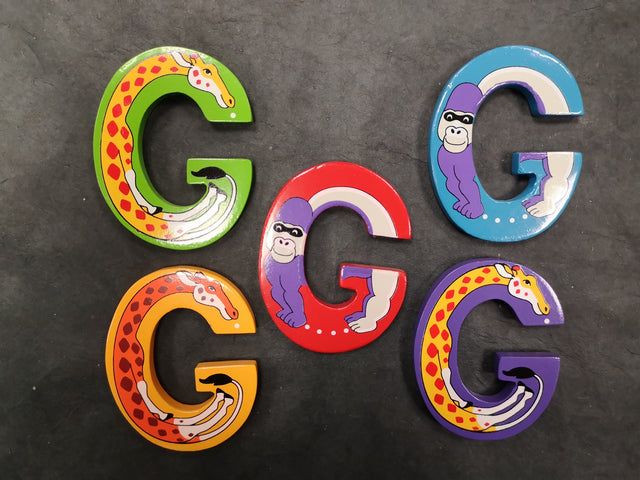 Children's Animal Letters - G