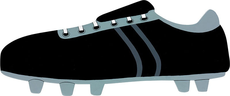 Small Football Boot Letter Plaque