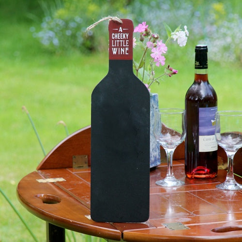 Blackboard Wine Bottle