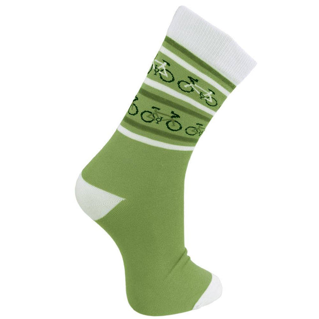 Bamboo Socks (Womens) - Green Bicycles